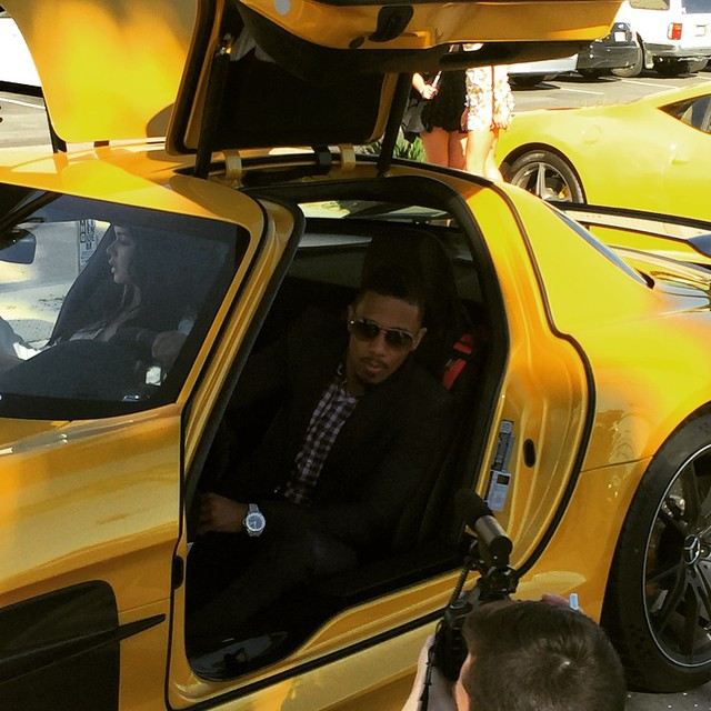 Nick Cannon Ncredible Motorsports shoot