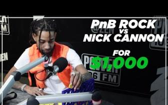 PnB Rock vs Nick Cannon: $1k Connect Four Match!