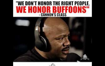 We don't honor the right people, we honor Buffoons #cannonsclass
