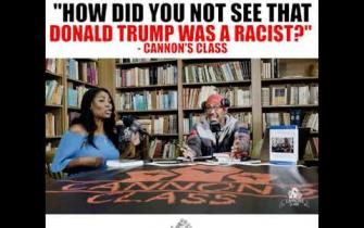 #CannonsClass How did you not see that Donald Trump was a racist?